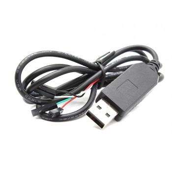 کابل مبدل USB به سریال TTL مدل PL2303HX