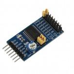 ماژول مبدل آنالوگ به دیجیتال 10 بیتی TLC1543 دارای نرخ نمونه برداری 38K