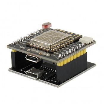 برد توسعه Witty cloud دارای هسته وایفای ESP8266 و دو پورت میکرو  USB پروگرام / پاور
