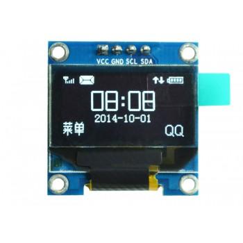 ماژول نمایشگر OLED تک رنگ 0.96 اینچ دارای ارتباط I2C و چیپ درایور SSD1306