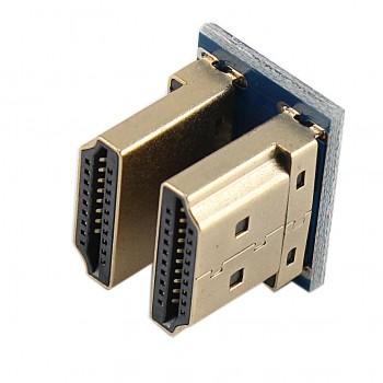 شیلد نمایشگر LCD TFT فول کالر تاچ 5 اینچ دارای ورودی HDMI مناسب برای بردهای رسپبری پای