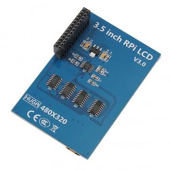 شیلد نمایشگر LCD فول کالر تاچ 3.5 اینچی مناسب برای بردهای رسپبری پای