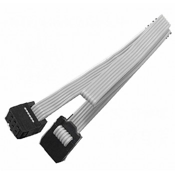 کابل 6 پین IDC مناسب برای پروگرامرهای  JTAG / AVR