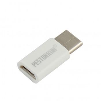 مبدل میکرو USB به USB3.1 Type-C مناسب برای شارژ / انتقال داده