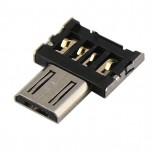 بسته 2 تایی مبدل USB به میکرو OTG Adapter ) USB )