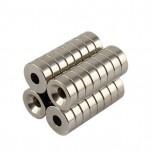 آهن ربای نئودمیوم فوق قوی 14mm X 5mm گرد مناسب برای پرینتر های سه بعدی دلتا