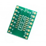 برد دو لایه تبدیل SMD به DIP ویژه آی سی های SOP16/TSSOP16/MSOP16