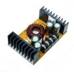 ماژول رگولاتور DC به DC کاهنده 10 آمپر دارای نمایشگر و قابلیت تنظیم ولتاژ و جریان خروجی
