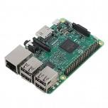 برد رسپبری پای 3 مدل B دارای هسته پردازنده 64 بیتی ، وایفای و بلوتوث داخلی