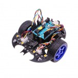 کیت ربات ماشین هوشمند UNO R3 با قابلیت کنترل از طریق بلوتوث