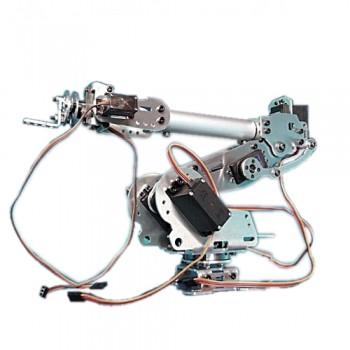 ربات بازوی صنعتی تمام فلزی 6 محوره - دارای 7 سروو موتور