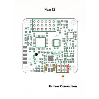 پیزو بازر 5 ولتی - قابل نصب بر روی رسیور و فلایت کنترل