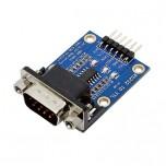 ماژول مبدل RS232 به TTL دارای چیپ SP3232 و کانکتور نری