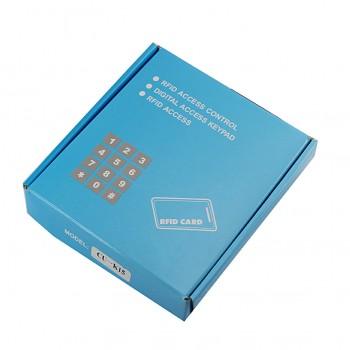 دستگاه کنترل تردد ( اکسس کنترل ) دارای کلید و قابلیت خواندن کارت RFID ( فرکانس 13.56MHz )