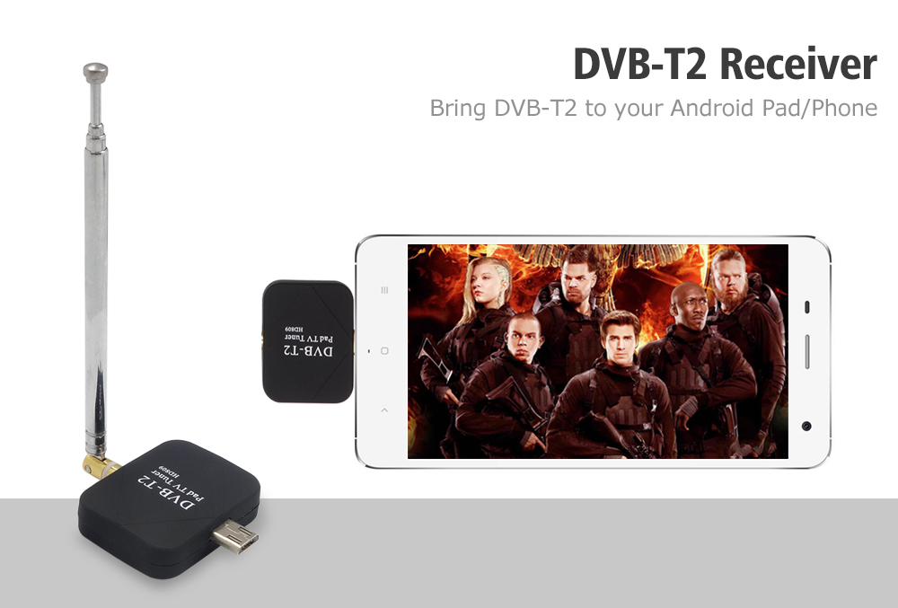 گیرنده دیجیتال موبایل اندروید Pad TV Tuner HD809
