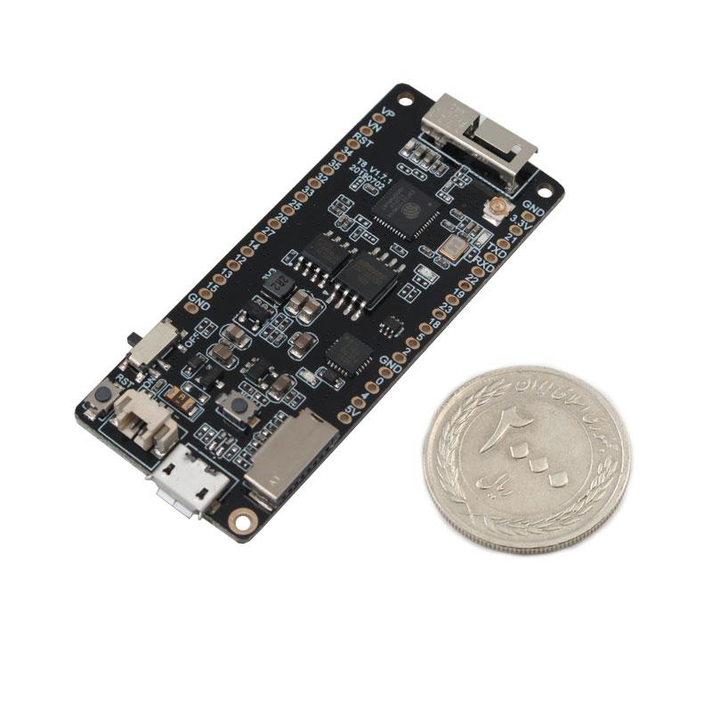 ماژول بلوتوث و وای فای TTGO T8 V1.7 پردازنده ESP32 WROVER