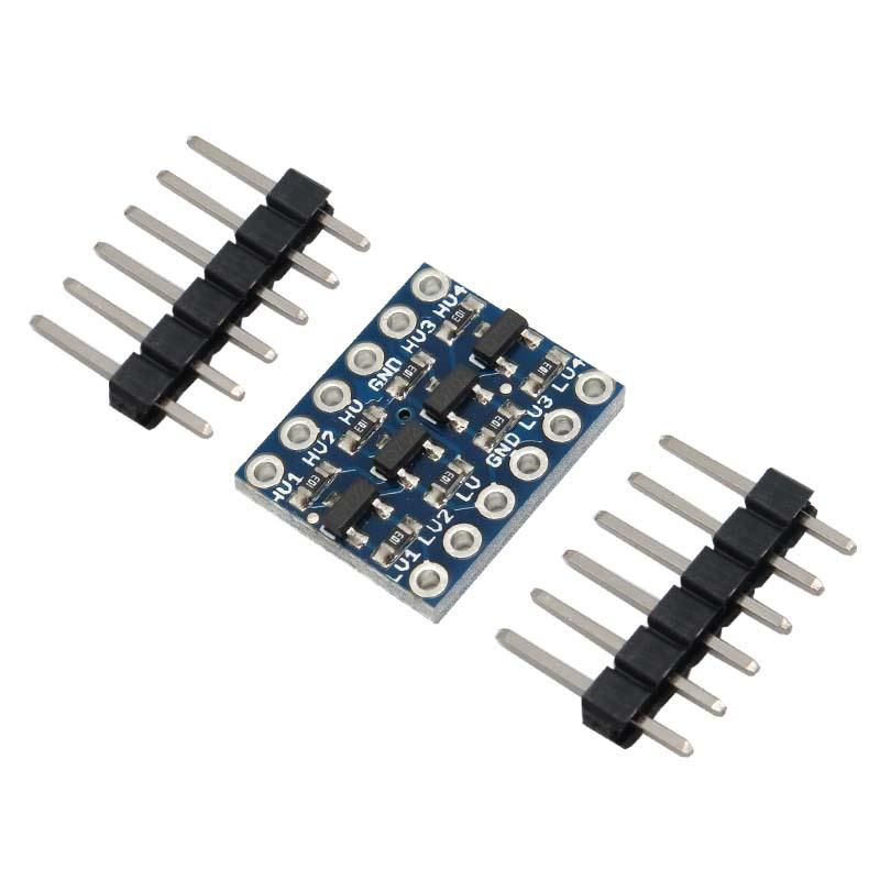 ماژول مبدل سطح ولتاژ دو طرفه 4 کاناله دارای ارتباط I2C