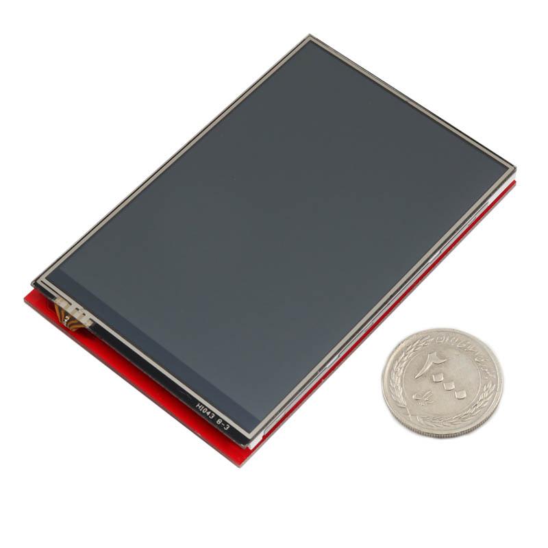 شیلد نمایشگر LCD TFT فول کالر تاچ 3.95 اینچی مناسب برای بردهای آردوینو