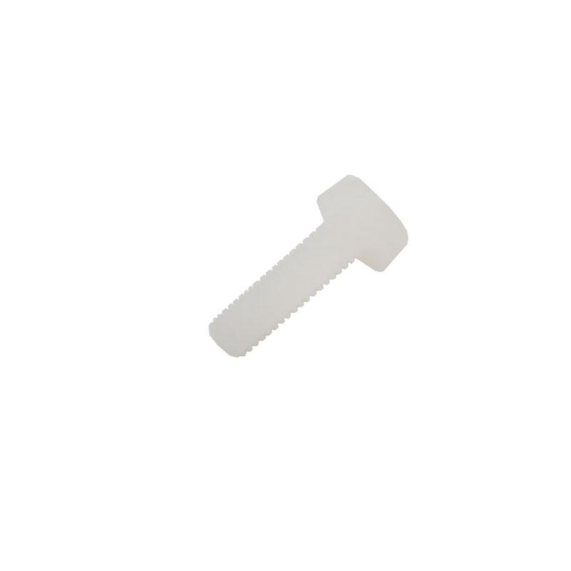 بسته 5تایی پیچ پلاستیکی گرد M3 به طول 10 میلی متر