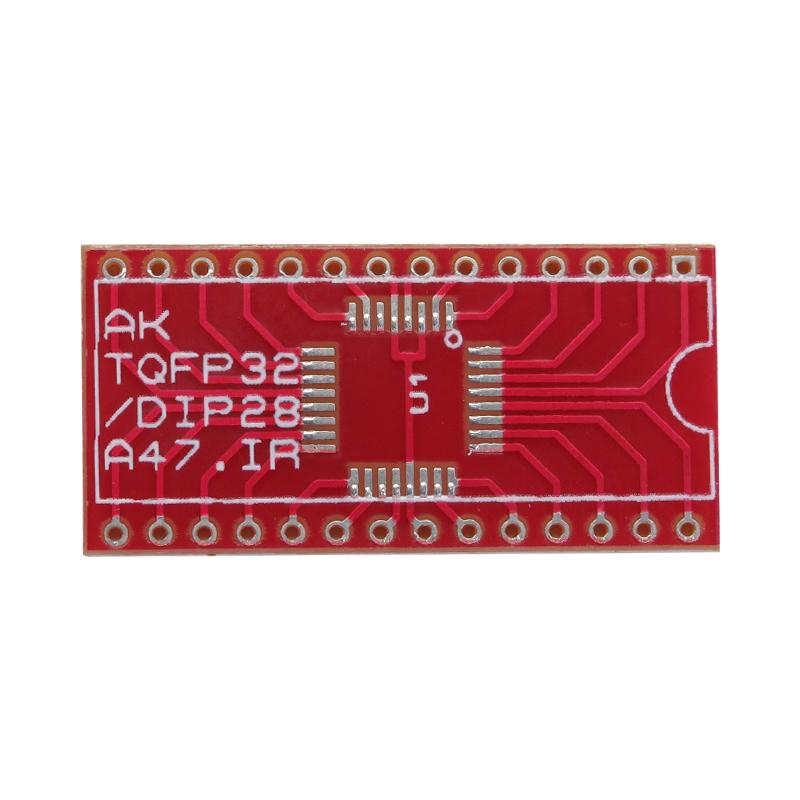 بسته 2تایی برد تبدیل TQFP32 به DIP28 ویژه AVR