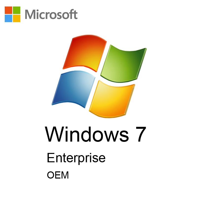 لایسنس Windows 7 Enterprise ( نسخه OEM )