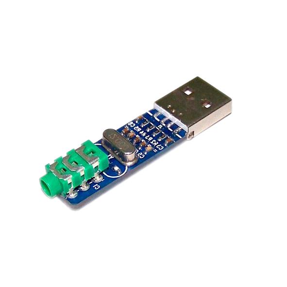 ماژول کارت صدای اکسترنال PCM2704 - دارای ارتباط USB و دیکدر